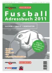 Das Fußball Adressbuch 2011