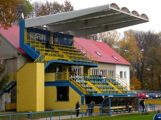 Stadion des MSK Breclav