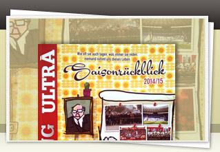 Blickfang Ultra Spezial R�ckblick 2014/15 jetzt bestellen!!