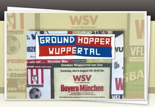 Groundhopper Wuppertal 43 jetzt bestellen!!