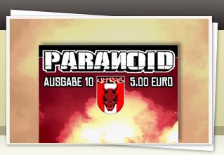 Paranoid 10 jetzt bestellen!!