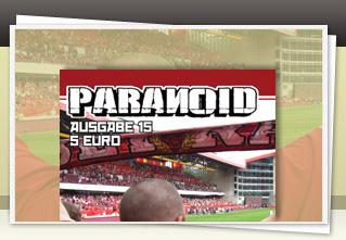 Paranoid 15 jetzt bestellen!!
