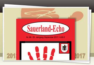 Sauerland-Echo 66 jetzt bestellen!!