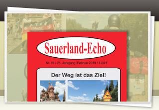 Sauerland-Echo 69 jetzt bestellen!!