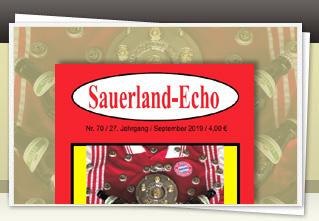 Sauerland-Echo 70 jetzt bestellen!!