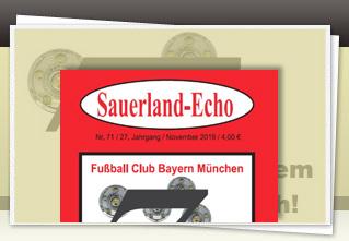Sauerland-Echo 71 jetzt bestellen!!