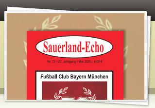Sauerland-Echo 72 jetzt bestellen!!