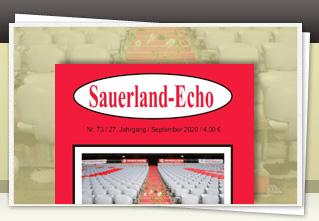 Sauerland-Echo 73 jetzt bestellen!!
