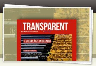 Transparent Magazin 2 jetzt bestellen!!
