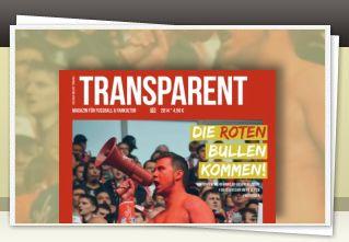 Transparent Magazin 10 jetzt bestellen!!