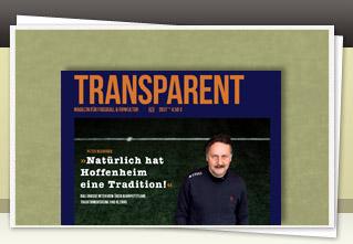 Transparent Magazin 20 jetzt bestellen!!